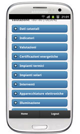 Audit energetico mobile